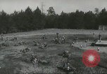 Image of United States Army Rangers Fort Benning Georgia USA, 1958, second 33 stock footage video 65675073587