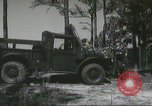 Image of ground mobility courses Fort Benning Georgia USA, 1958, second 25 stock footage video 65675073588