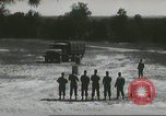 Image of ground mobility courses Fort Benning Georgia USA, 1958, second 37 stock footage video 65675073588