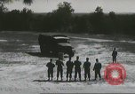 Image of ground mobility courses Fort Benning Georgia USA, 1958, second 41 stock footage video 65675073588