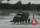 Image of ground mobility courses Fort Benning Georgia USA, 1958, second 47 stock footage video 65675073588