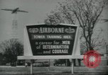 Image of United States Army Airborne soldiers United States USA, 1955, second 12 stock footage video 65675073603