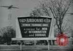 Image of United States Army Airborne soldiers United States USA, 1955, second 14 stock footage video 65675073603