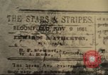 Image of Stars and Stripes newspaper United States USA, 1918, second 9 stock footage video 65675073617