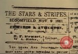 Image of Stars and Stripes newspaper United States USA, 1918, second 10 stock footage video 65675073617