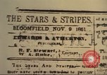 Image of Stars and Stripes newspaper United States USA, 1918, second 11 stock footage video 65675073617