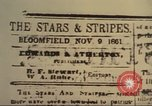 Image of Stars and Stripes newspaper United States USA, 1918, second 12 stock footage video 65675073617