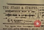 Image of Stars and Stripes newspaper United States USA, 1918, second 13 stock footage video 65675073617