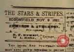 Image of Stars and Stripes newspaper United States USA, 1918, second 14 stock footage video 65675073617