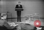 Image of presidential election debate Chicago Illinois USA, 1960, second 6 stock footage video 65675073640