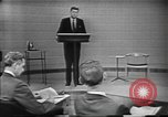 Image of presidential election debate Chicago Illinois USA, 1960, second 8 stock footage video 65675073640