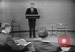 Image of presidential election debate Chicago Illinois USA, 1960, second 20 stock footage video 65675073640