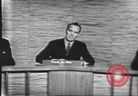 Image of presidential election debate Washington DC USA, 1960, second 27 stock footage video 65675073643