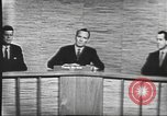 Image of presidential election debate Washington DC USA, 1960, second 28 stock footage video 65675073643