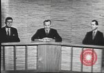 Image of presidential election debate Washington DC USA, 1960, second 29 stock footage video 65675073643