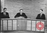 Image of presidential election debate Washington DC USA, 1960, second 30 stock footage video 65675073643