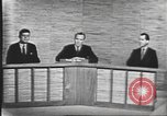 Image of presidential election debate Washington DC USA, 1960, second 31 stock footage video 65675073643