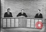 Image of presidential election debate Washington DC USA, 1960, second 33 stock footage video 65675073643