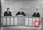 Image of presidential election debate Washington DC USA, 1960, second 35 stock footage video 65675073643