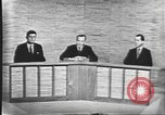 Image of presidential election debate Washington DC USA, 1960, second 36 stock footage video 65675073643
