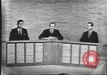 Image of presidential election debate Washington DC USA, 1960, second 37 stock footage video 65675073643