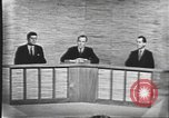 Image of presidential election debate Washington DC USA, 1960, second 39 stock footage video 65675073643