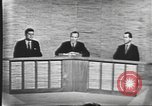 Image of presidential election debate Washington DC USA, 1960, second 40 stock footage video 65675073643