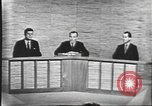 Image of presidential election debate Washington DC USA, 1960, second 41 stock footage video 65675073643