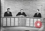 Image of presidential election debate Washington DC USA, 1960, second 42 stock footage video 65675073643