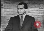 Image of presidential election debate Washington DC USA, 1960, second 52 stock footage video 65675073643