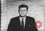 Image of presidential election debate Washington DC USA, 1960, second 59 stock footage video 65675073643