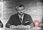 Image of presidential election debate Washington DC USA, 1960, second 3 stock footage video 65675073644