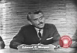 Image of presidential election debate Washington DC USA, 1960, second 6 stock footage video 65675073644