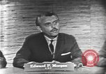 Image of presidential election debate Washington DC USA, 1960, second 7 stock footage video 65675073644