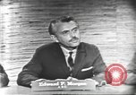 Image of presidential election debate Washington DC USA, 1960, second 12 stock footage video 65675073644