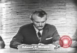 Image of presidential election debate Washington DC USA, 1960, second 14 stock footage video 65675073644