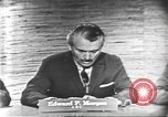 Image of presidential election debate Washington DC USA, 1960, second 15 stock footage video 65675073644
