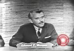 Image of presidential election debate Washington DC USA, 1960, second 16 stock footage video 65675073644