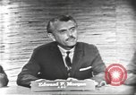 Image of presidential election debate Washington DC USA, 1960, second 17 stock footage video 65675073644