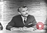 Image of presidential election debate Washington DC USA, 1960, second 19 stock footage video 65675073644