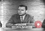 Image of presidential election debate Washington DC USA, 1960, second 3 stock footage video 65675073645