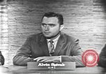 Image of presidential election debate Washington DC USA, 1960, second 4 stock footage video 65675073645