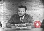 Image of presidential election debate Washington DC USA, 1960, second 5 stock footage video 65675073645