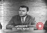 Image of presidential election debate Washington DC USA, 1960, second 6 stock footage video 65675073645