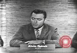 Image of presidential election debate Washington DC USA, 1960, second 8 stock footage video 65675073645