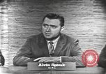 Image of presidential election debate Washington DC USA, 1960, second 10 stock footage video 65675073645