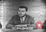 Image of presidential election debate Washington DC USA, 1960, second 13 stock footage video 65675073645
