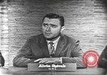 Image of presidential election debate Washington DC USA, 1960, second 14 stock footage video 65675073645