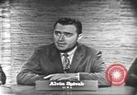 Image of presidential election debate Washington DC USA, 1960, second 15 stock footage video 65675073645