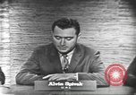 Image of presidential election debate Washington DC USA, 1960, second 18 stock footage video 65675073645